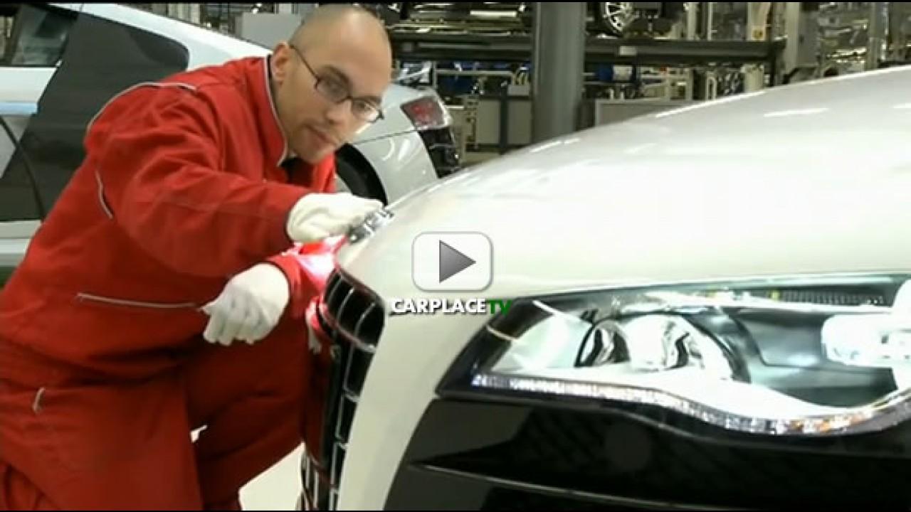 Vídeo: Linha de produção do novo Audi R8 Spyder