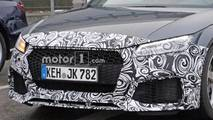 Audi TT-RS Refresh Spy Photos