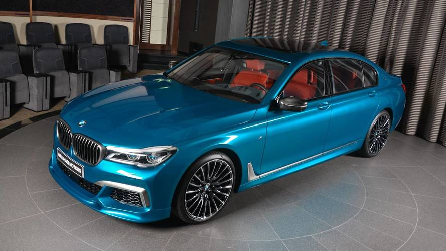 M760Li Individual Long Beach Blue Is BMW Abu Dhabi's Latest Toy
