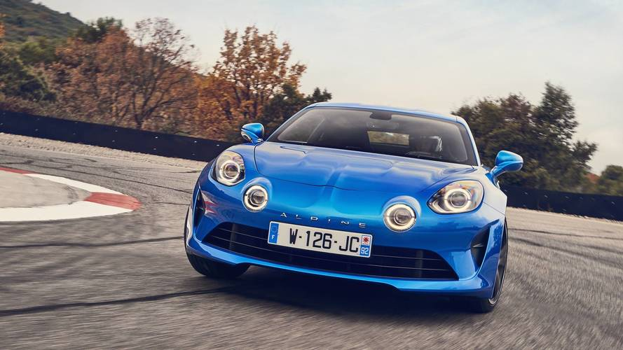 2018 Alpine A110 first drive