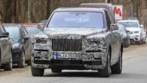 Rolls-Royce Cullinan spy photo