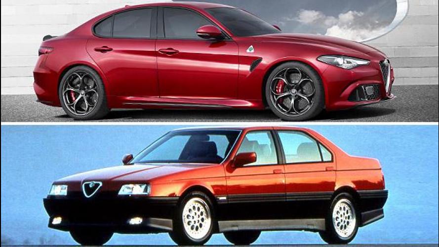 Nuova Alfa Romeo Giulia: 30 anni di berline tra alti, bassi e bassissimi