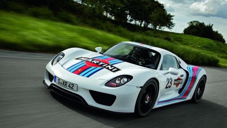 Porsche 918 Spyder production version to have 875 bhp - report