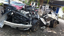 Nissan GT-R accident in Malaysia