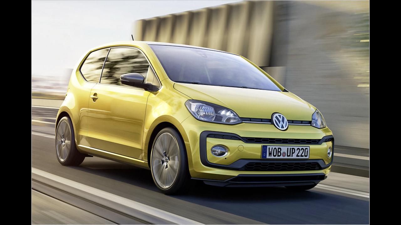 Schwächstes Serienauto: VW Up 1.0, 60 PS
