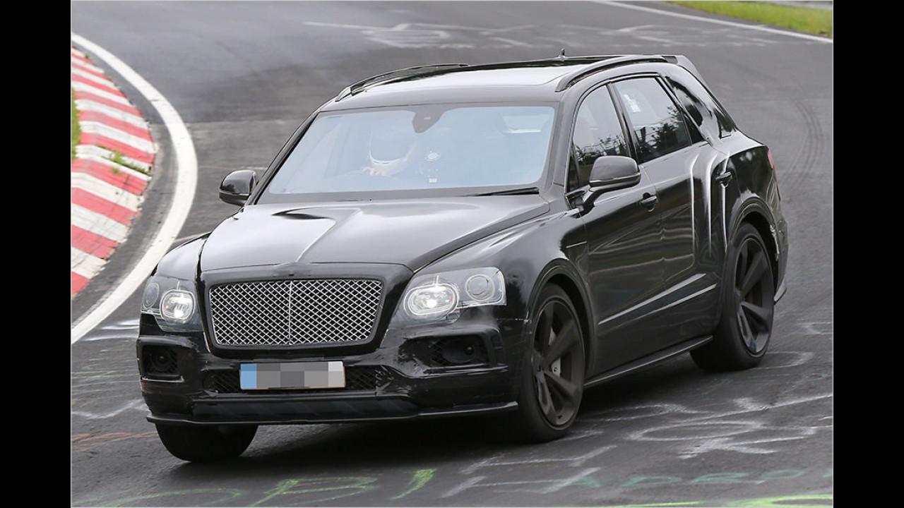 Abgelichtet: Bentley Bentayga Speed
