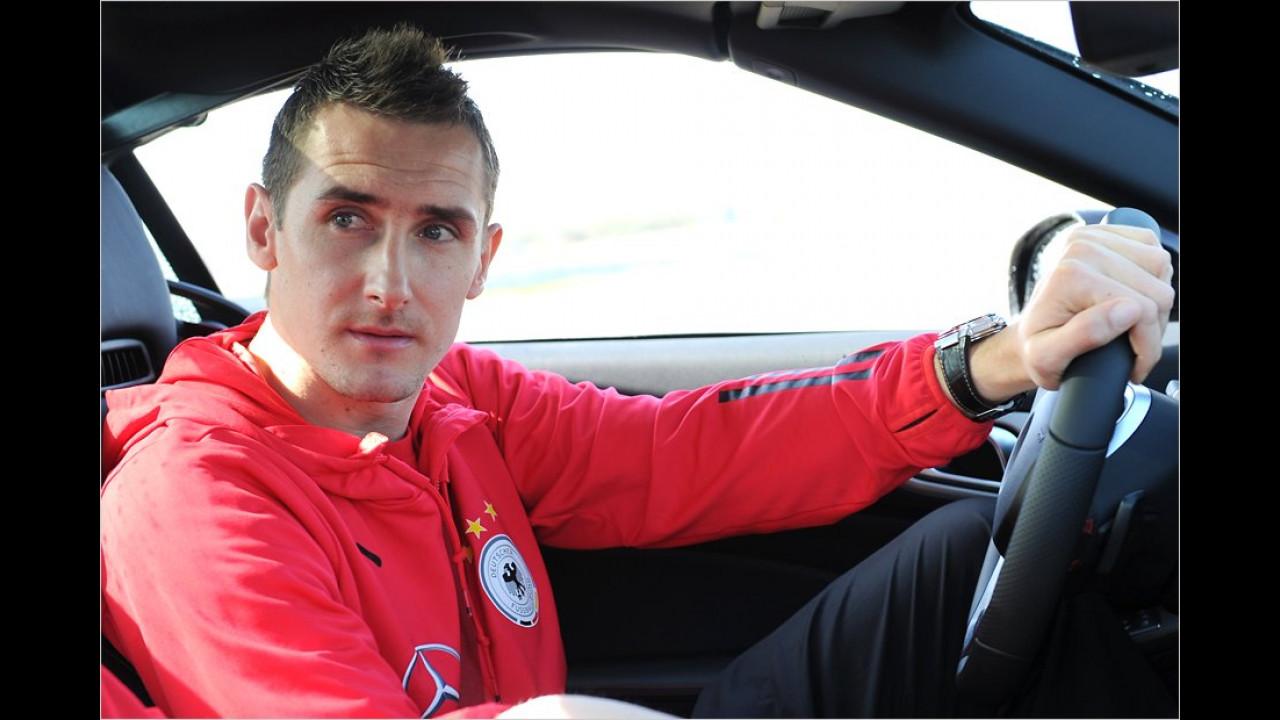 Miroslav Klose: Mercedes SLK