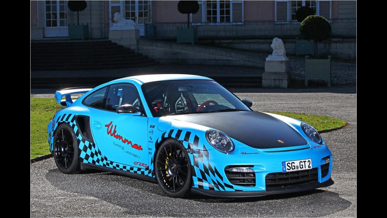 389 km/h: Wimmer-Porsche 911 GT2 RS