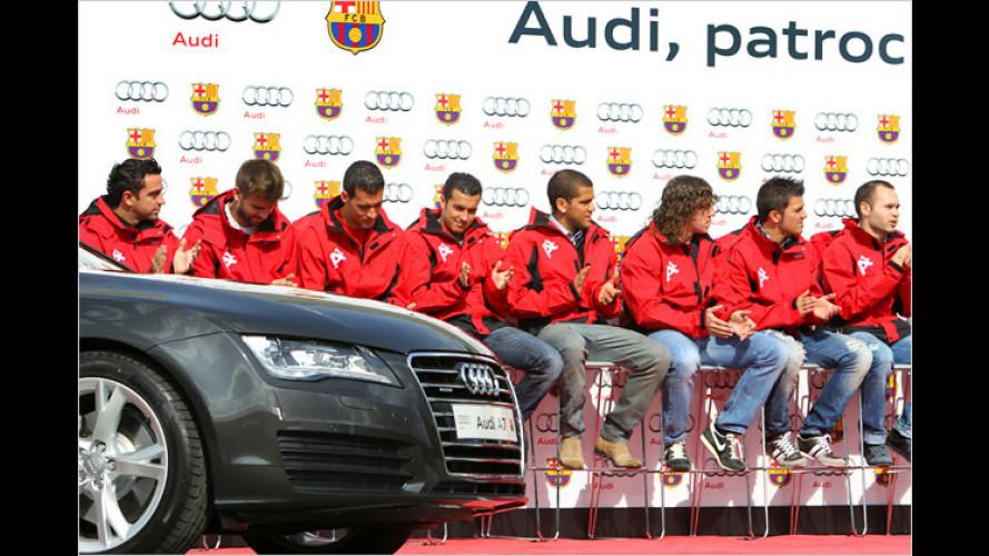 Neue Audis für die Top-Fußballer in Spanien
