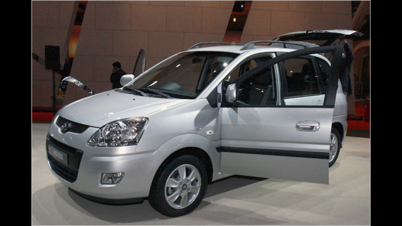 Facelift Hyundai Matrix
