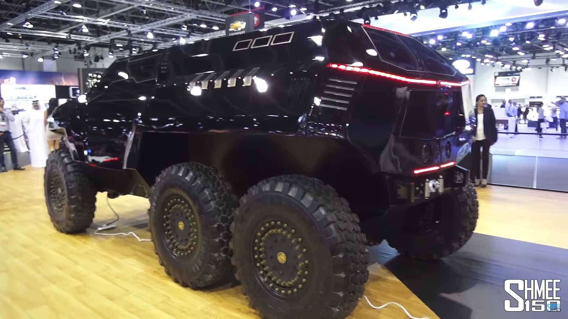 devel sixty is a sinister 6x6 suv concept to rival mb g63 amg. Black Bedroom Furniture Sets. Home Design Ideas
