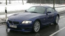BMW Z4 M Coupe Spy Photos