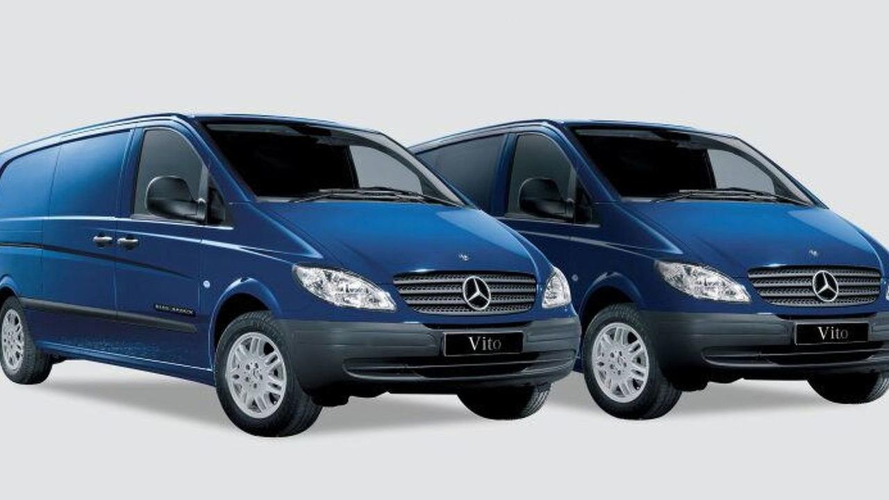 Mercedes-Benz Blue Arrow Vito Limited Edition