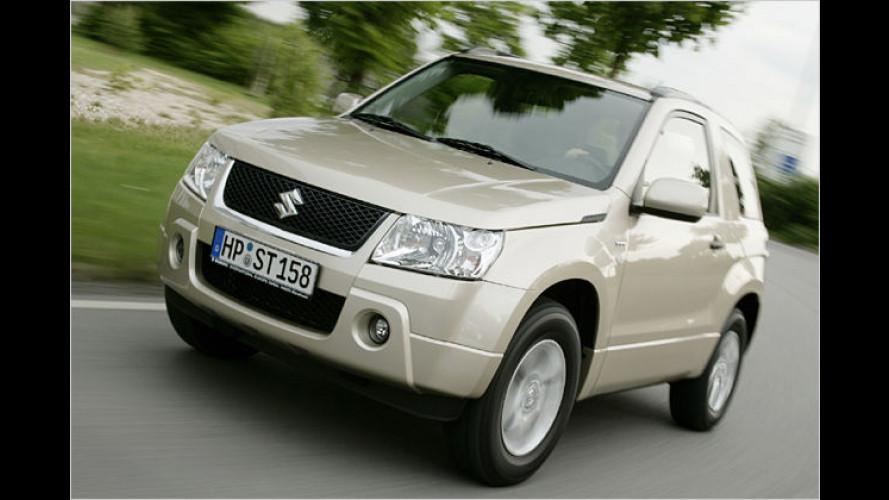 Vorgestellt: Der Suzuki Grand Vitara als Drei- und Fünftürer