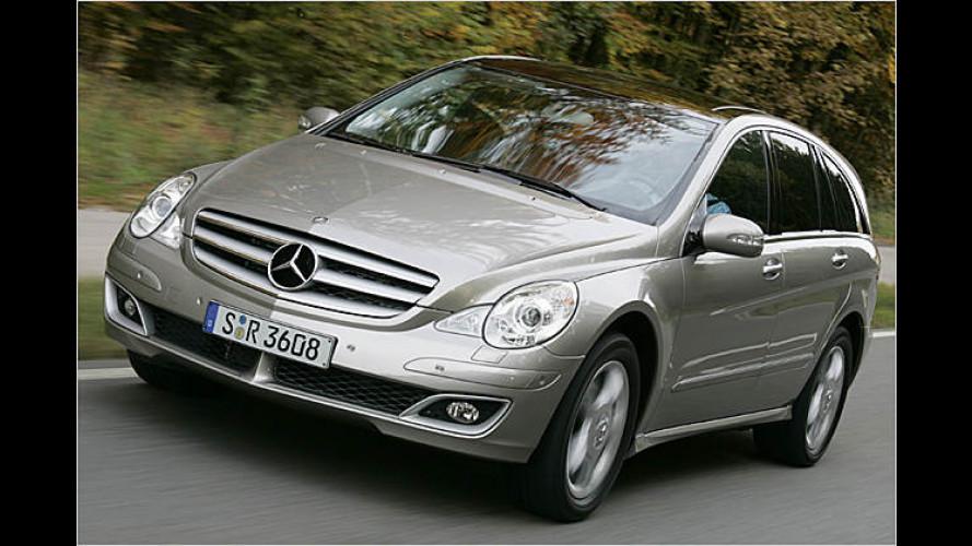 Der neue Mercedes R 320 CDI: R wie Raum und Reisen