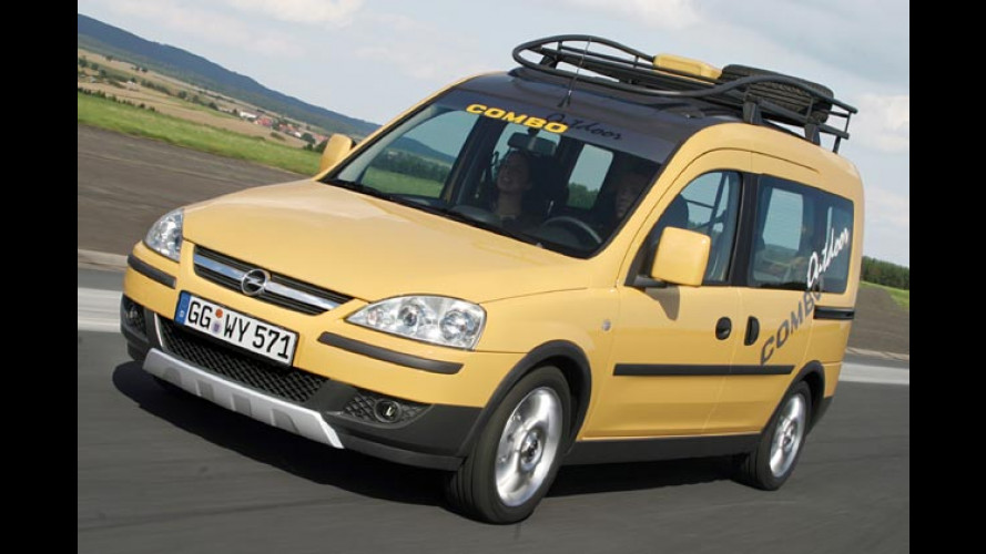 Opel Combo Outdoor: Lifestyle-Van für Action und Fun