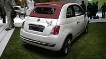 Fiat 500C at 2009 Geneva Motor Show