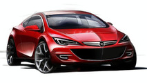 2010 Opel Astra OPC hatchback sketch - 1024 - 08.07.2009
