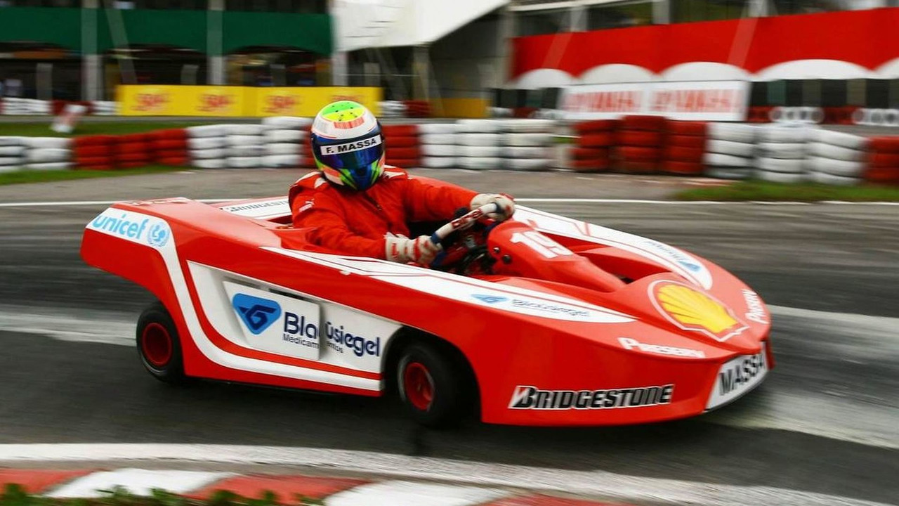 Felipe Massa (BRA), Scuderia Ferrari - International Challenge of Go-Kart Champs, Florianopolis, Brazil, 30.11.2008