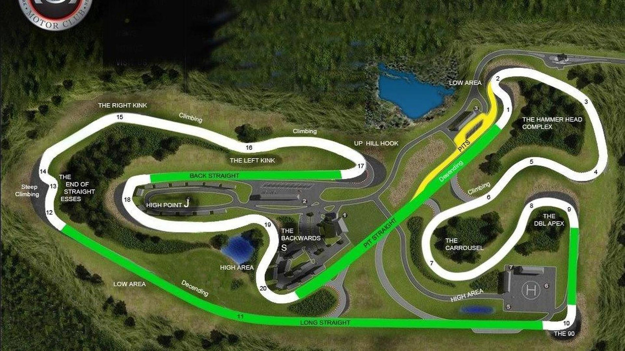 Monticello Motor Club track map, 1020, 21.05.2010
