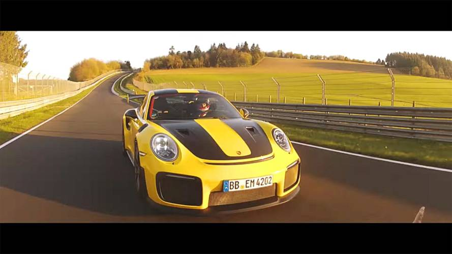 Experience Porsche 911 GT2 RS Onboard Around The 'Ring