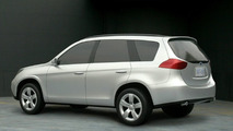 Potential 2009 Subaru Forester design