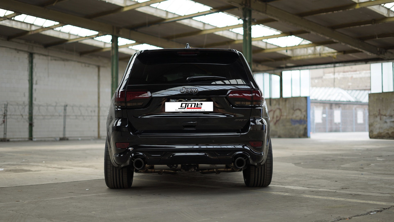 Jeep Grand Cherokee SRT Gets Sinister Tuning Package In Europe