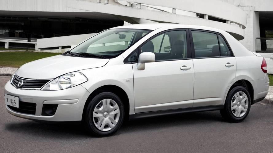 Nissan Tiida finalmente deixará de ser produzido em 2018