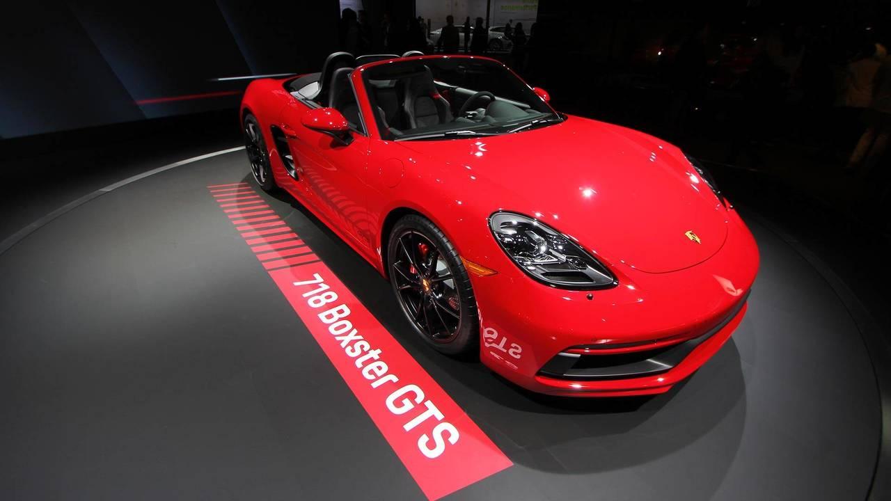 Porsche 718 Boxster GTS Live Photos