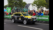 Skoda Karoq al Tour de France