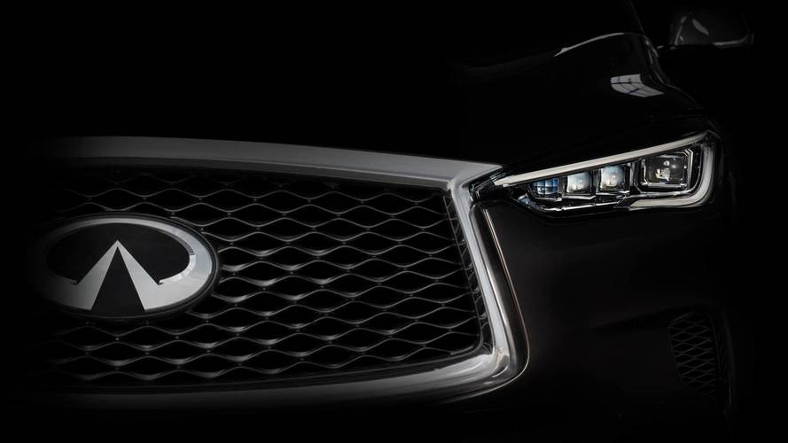 Infiniti teases all-new model for LA show, likely QX50