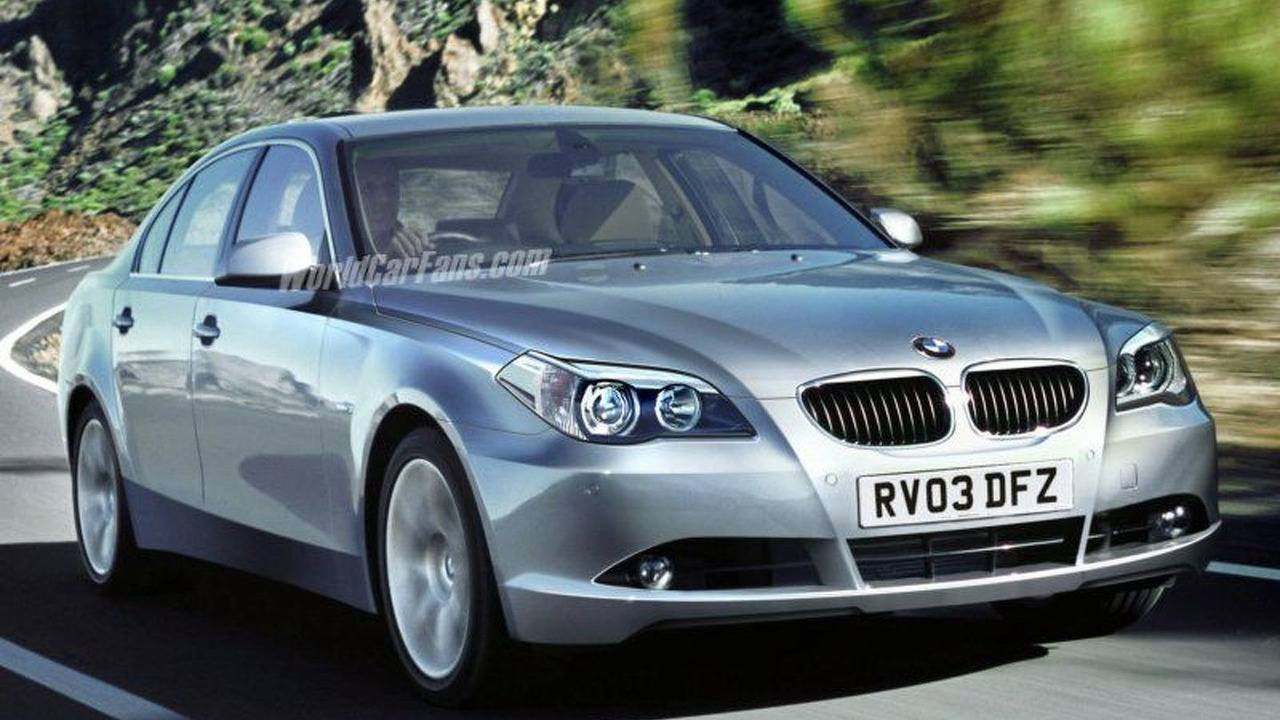 SPY PHOTOS: 2009 BMW 5-Series Artist Impression
