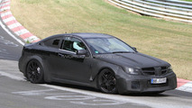 2012 Mercedes C63 AMG Black Series spied on ring 19.05.2011