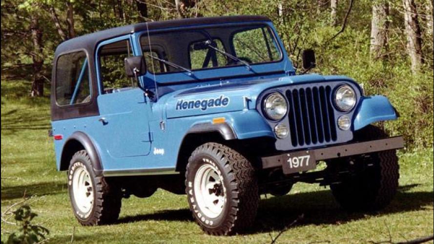 Jeep Renegade, la leggenda inizia con il CJ-5