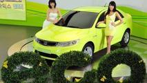 Kia Forte LPI hybrid Electric Vehicle