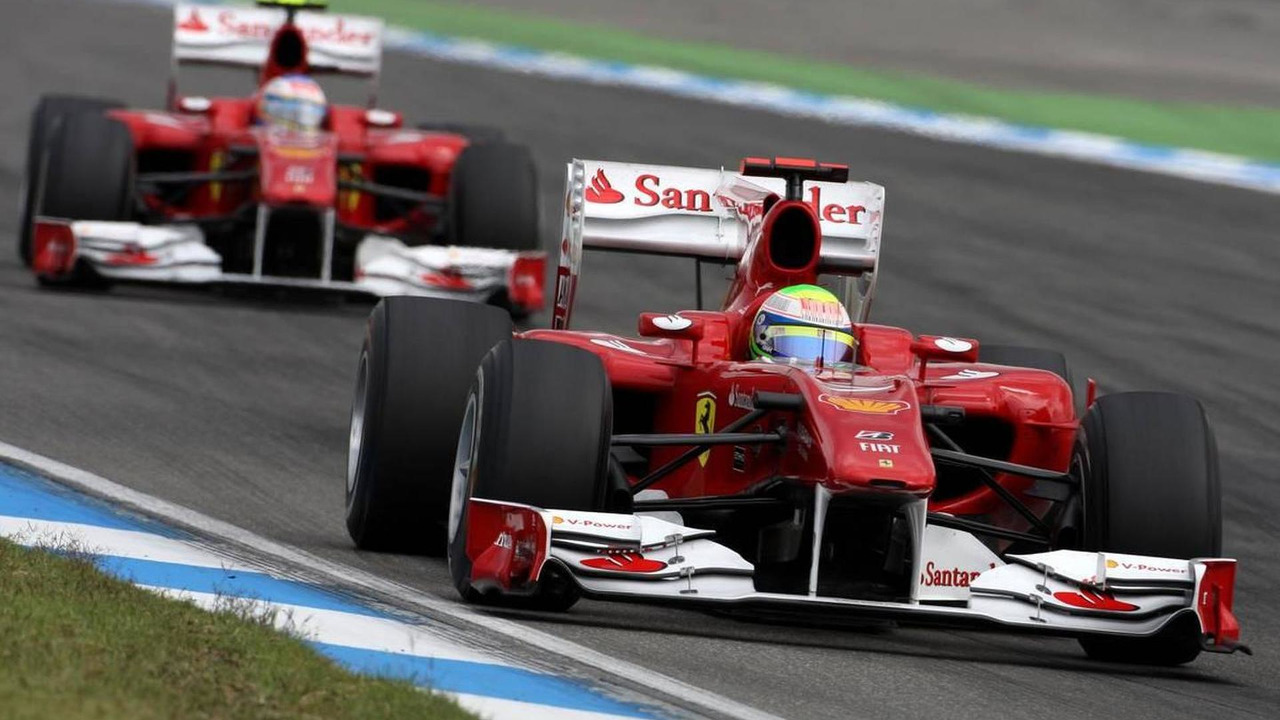 Felipe Massa (BRA), Scuderia Ferrari and Fernando Alonso (ESP), Scuderia Ferrari - Formula 1 World Championship, Rd 11, German Grand Prix
