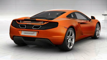 McLaren MP4-12C website screenshots