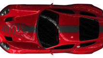 Zagato teases one-off Alfa Romeo TZ3 Corsa race car