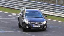 2011 Opel Astra Sports Tourer Spy Photos, Nurburgring Nordschleife, Germany, 28.04.2010