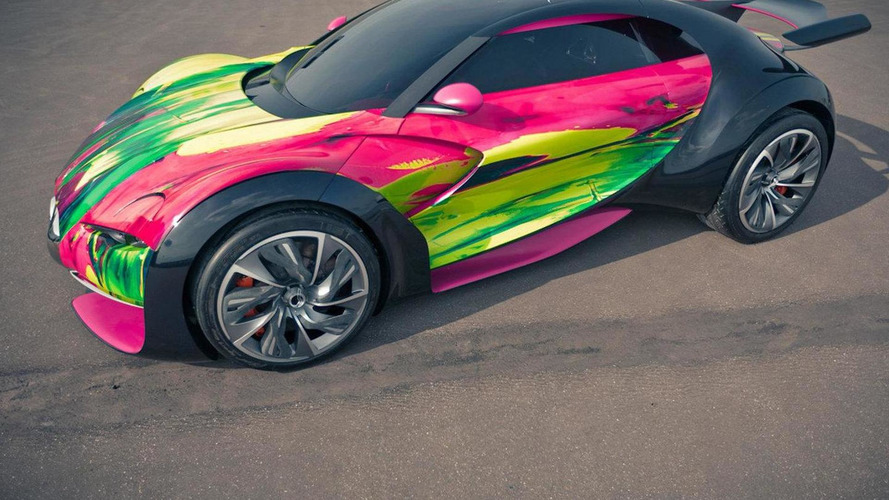 Citroën unveils 'Art Car' version of Survolt
