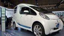 Mitsubishi MiEV Cargo Concept live at Tokyo Motor Show