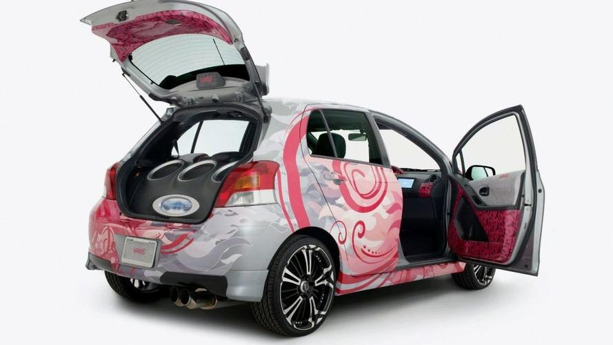 Hard Kandy Toyota Custom Yaris for SEMA
