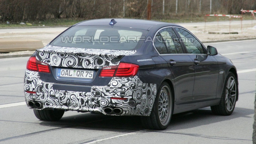 2011 Alpina B5 First Spy Photos