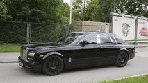 Rolls-Royce Phantom successor spy photo