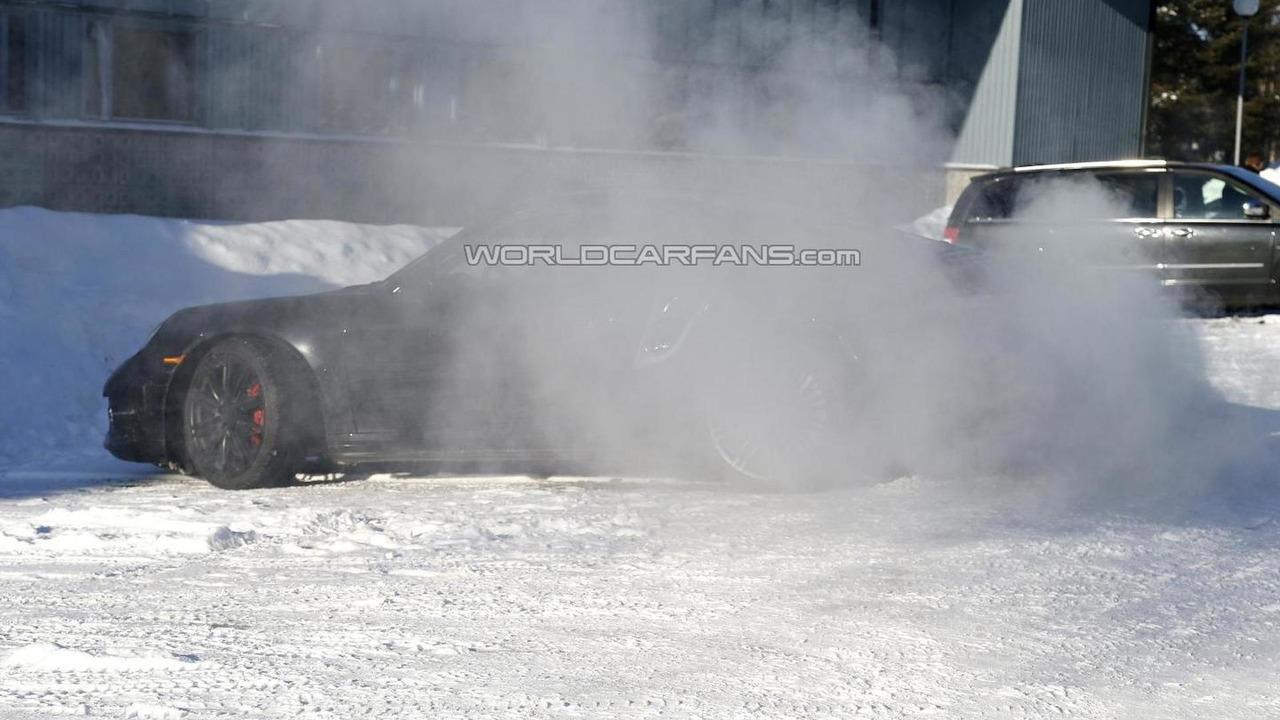 2014 Porsche 911 Turbo spy photo 15.03.2013 / Automedia
