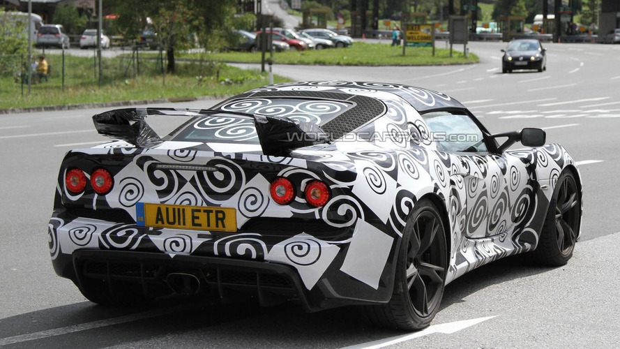 2012 Lotus Exige spied vacationing in the Alps