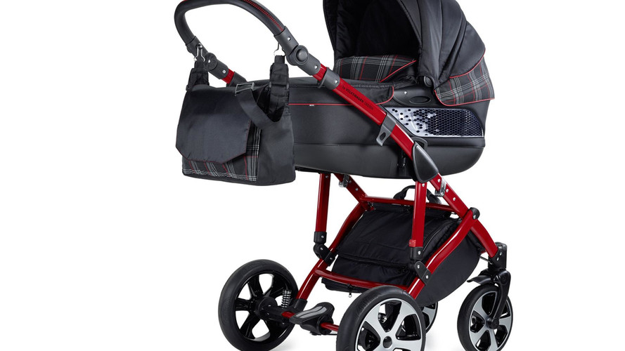 VW GTI Stroller Introduces Infants To Famous Hot Hatch