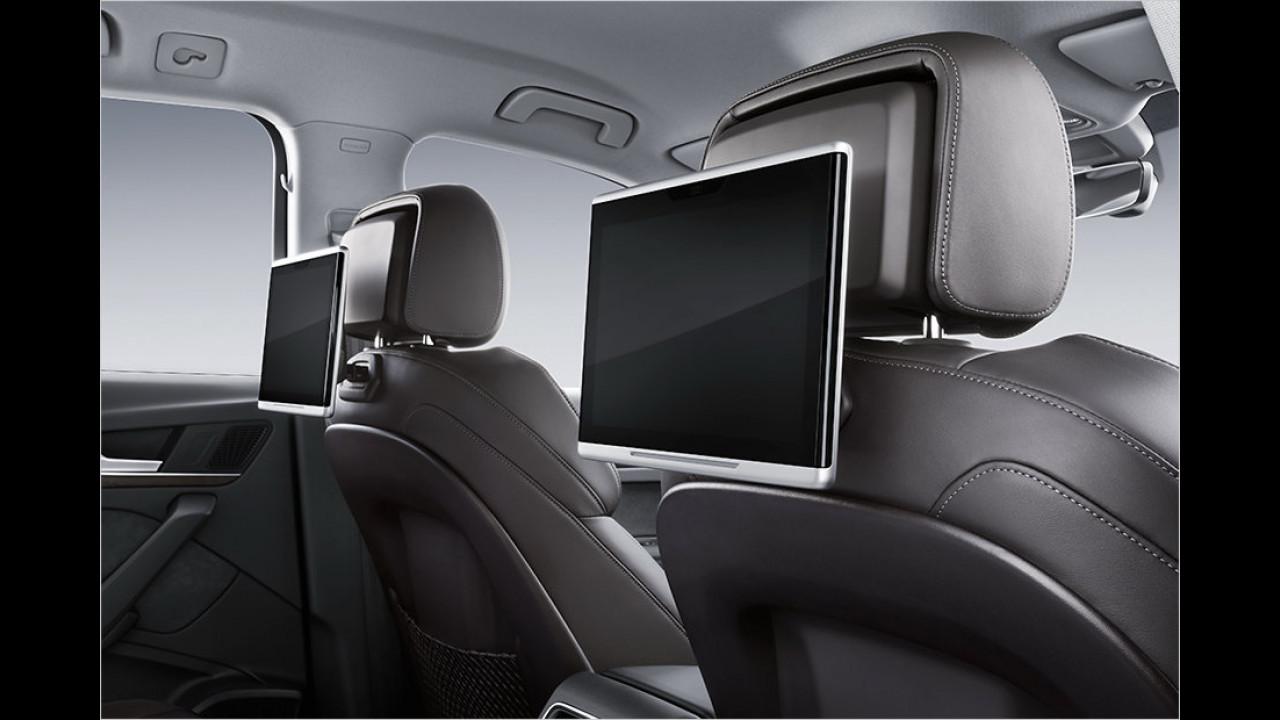 Interieur: Rear Seat Entertainment
