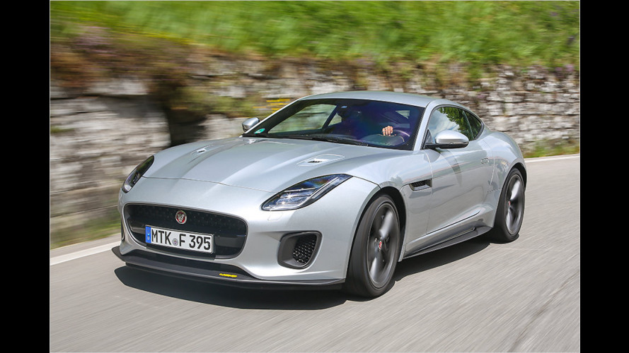 Jaguar F-Type 400 Sport im Test
