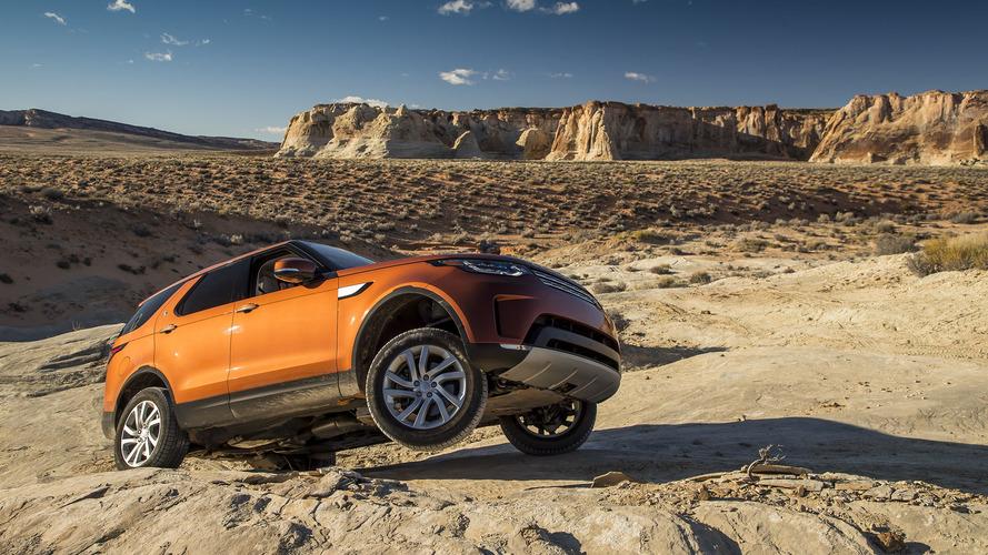 Land Rover Discovery SVX geldi gelecek!